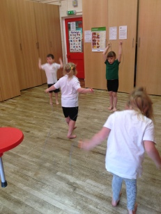Skipping and co-ordination.